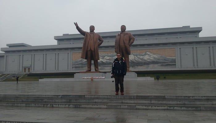 North Korea unusual traveler