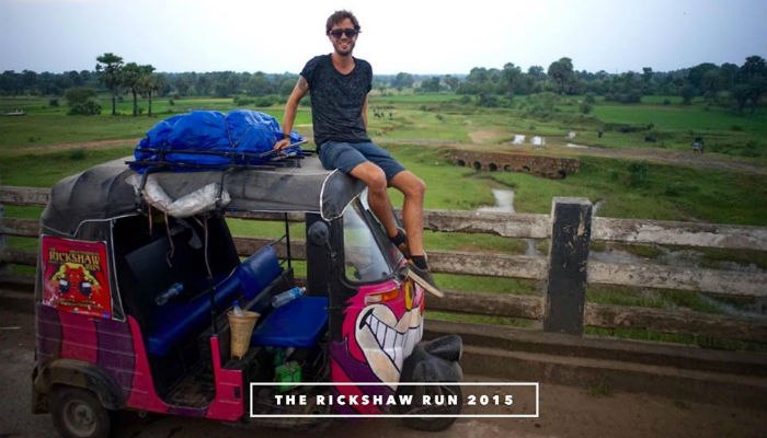 rickshaw run the adventurepreneurs