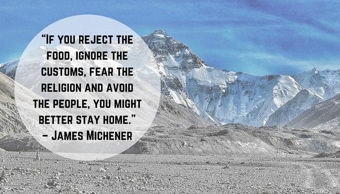 unusual traveler quote