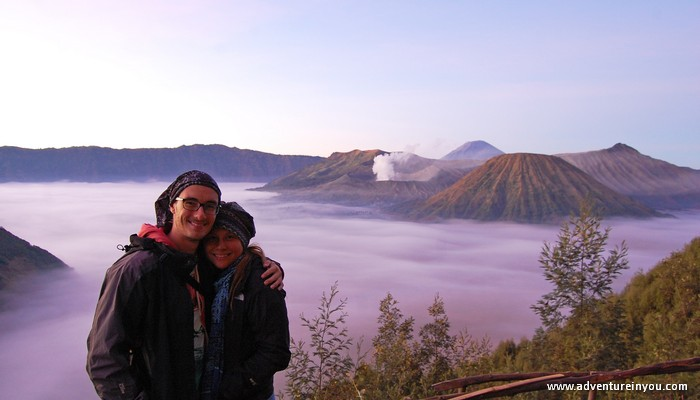 adventure in you mt bromo