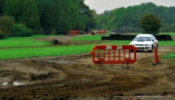 rally driving uk