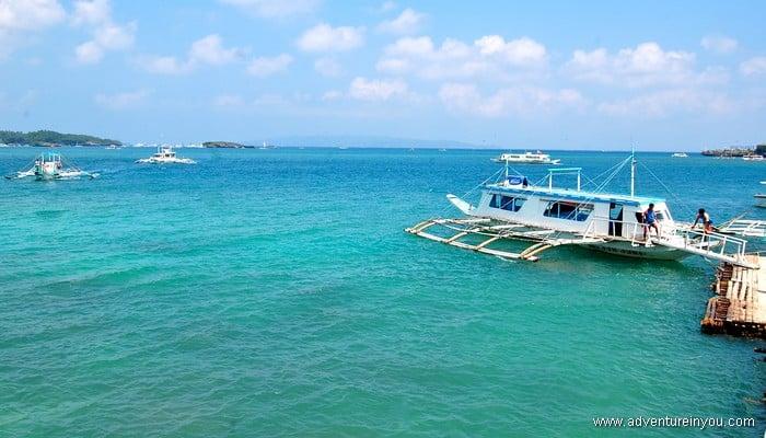 boracay island boat