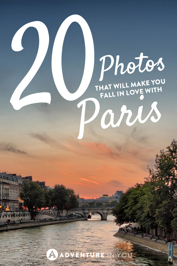Check out these stunning photos that will make you fall in love with Paris.