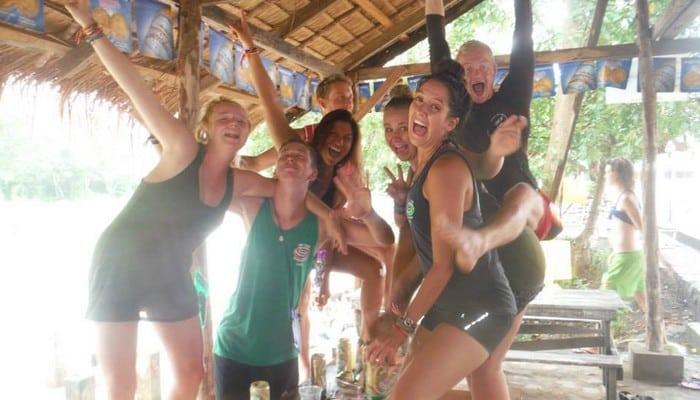 tubing in laos fun