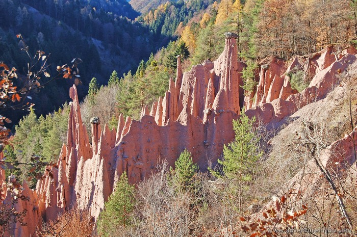 earth pyramids bolzano