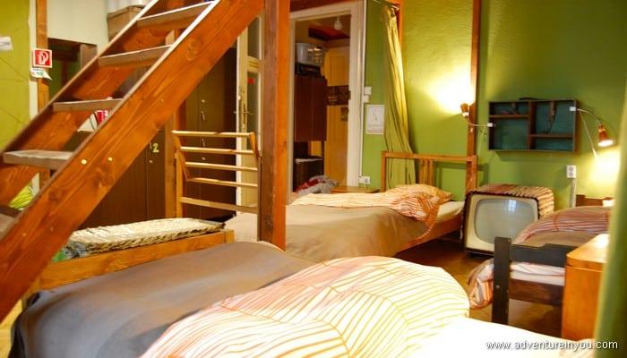 hostel dorm budapest