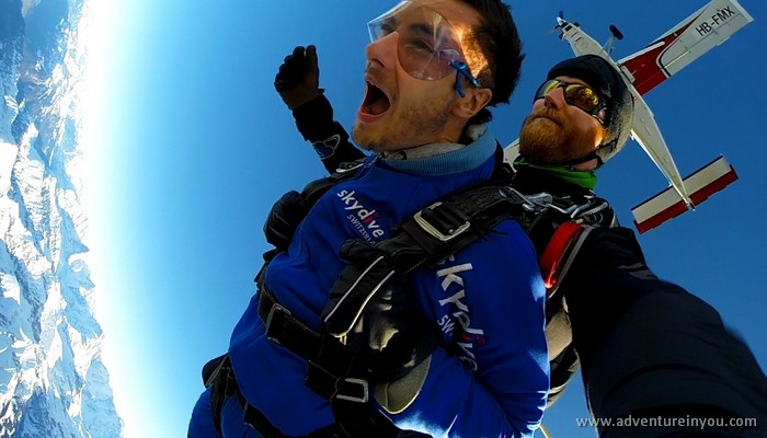 adventure in you skydiving