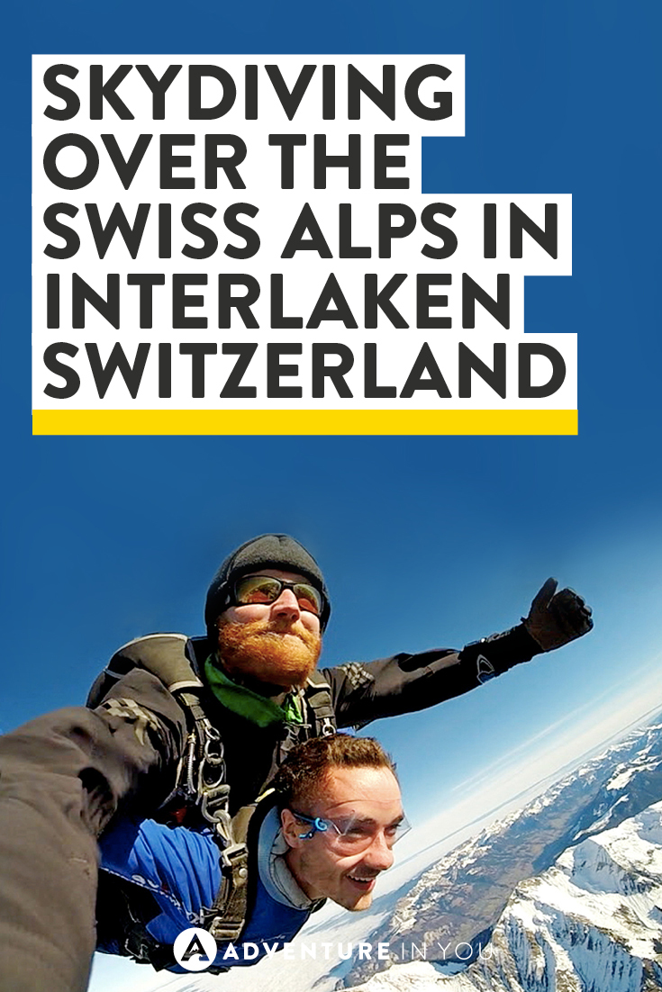 Skydiving in over the Swiss Alps in Interlaken Switzerland has to be one of the best things we've ever done!! Want to know what it's like? Check out the article and see for yourself!