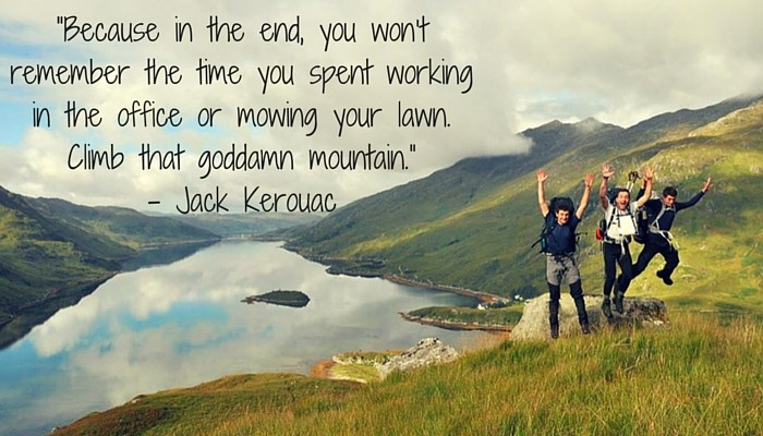 jack kerouac quote adventure