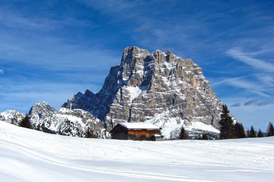 Skiing snowboarding europe mountains