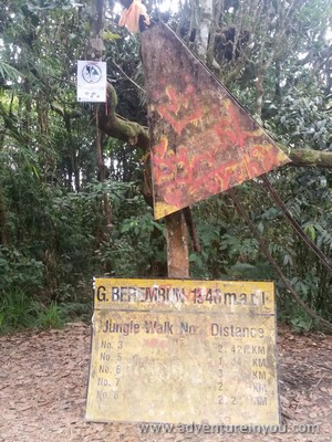 hike cameron highlands malaysia