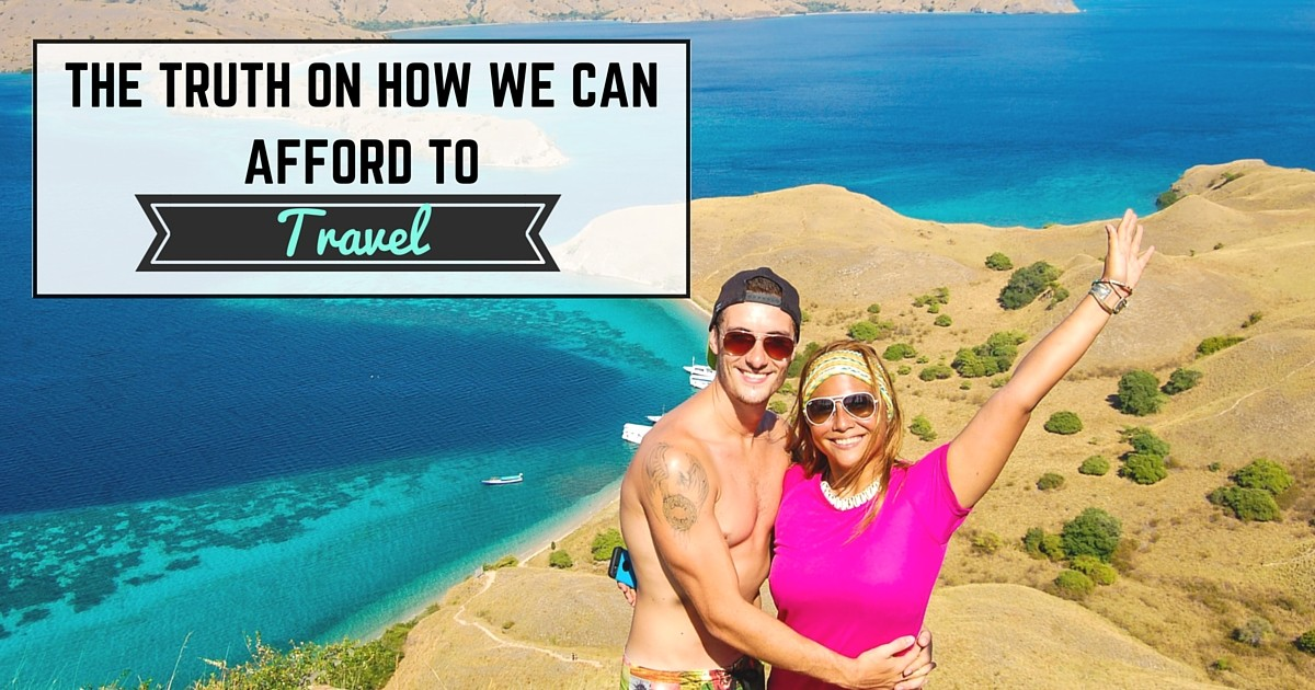 how we can afford to travel the world