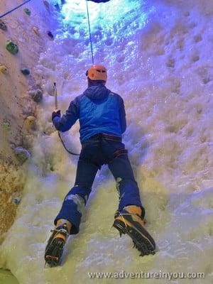 ice climbing london