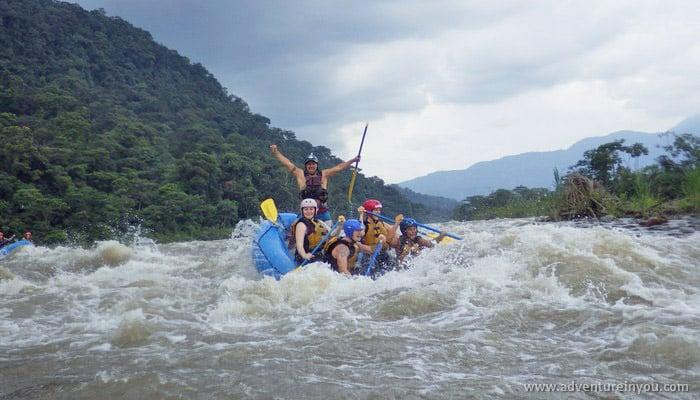 adventure banos ecuador