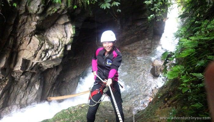 canyoning banos