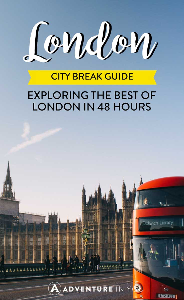 London Travel | Planning a trip to London? Here's a city break guide featuring the best things to see, do, and eat in London!