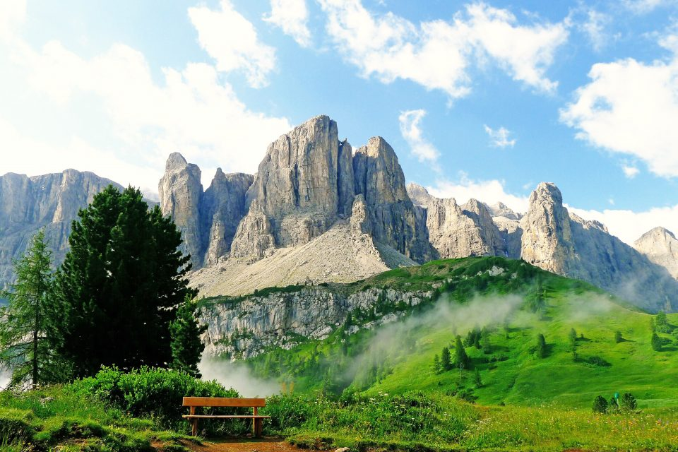 dolomite mountain italy