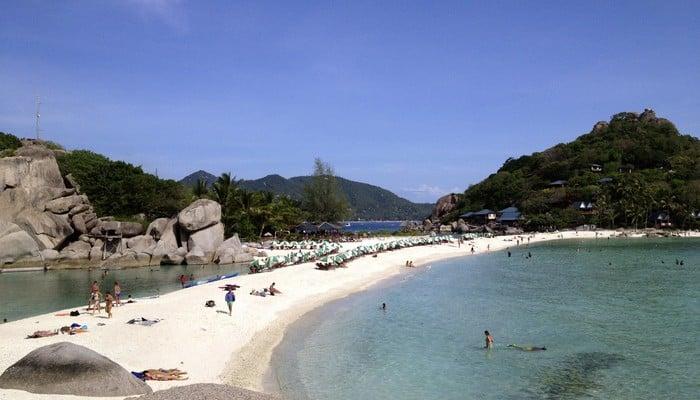 thailand nang yuan beach