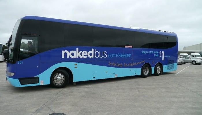 Naked Bus New zealand
