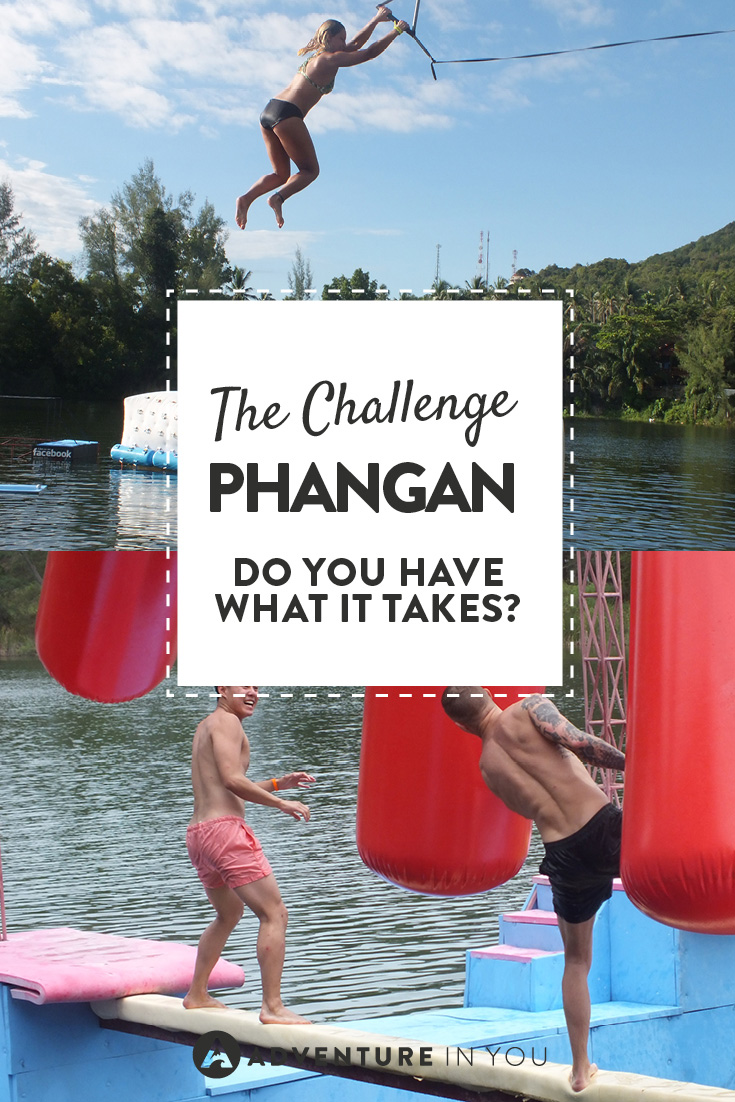 Looking for something fun to do in Koh Phangan Thailand? How about taking on the Challenge Phangan?