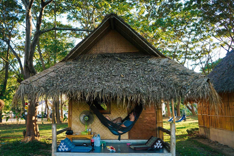 hut in pai thailand