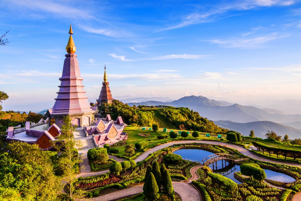 temples in northern Thailand