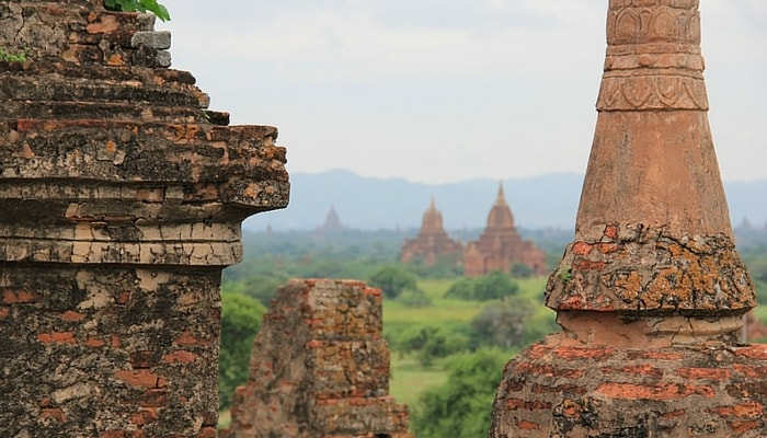 temples in Bagan Myanmar