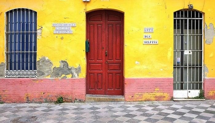 A street in Seville, Spain