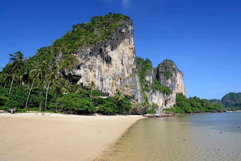 ton sai beach thailand