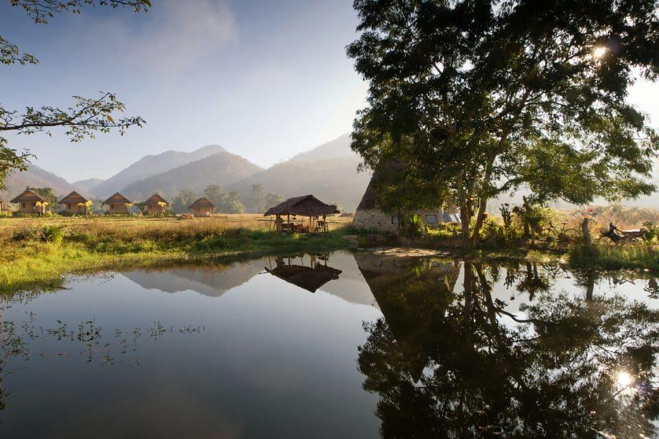 Pai thailand fields