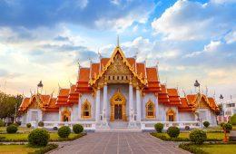 A grand white temple