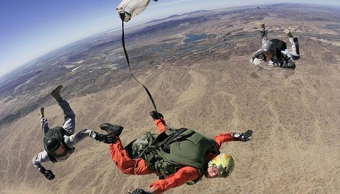 BASE jumping, USA
