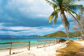 A beach in Coron