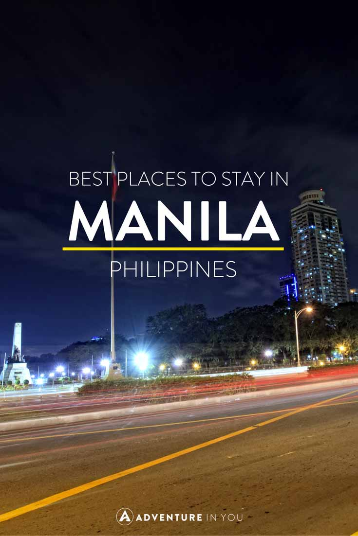 Manila Philippines | Looking for the best place to stay while in Manila, Philippines? Here are our recommendations
