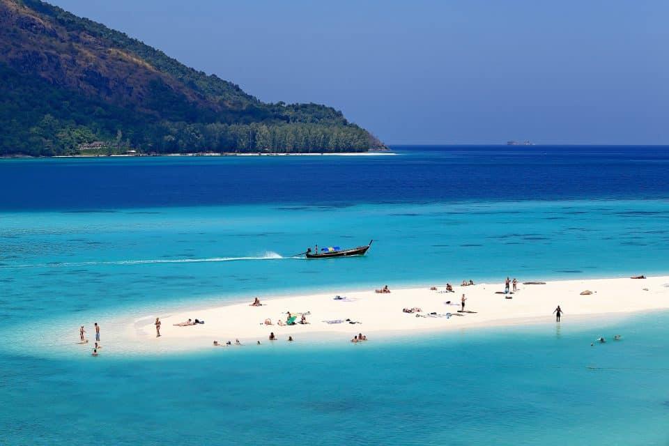 A beach in Thailand