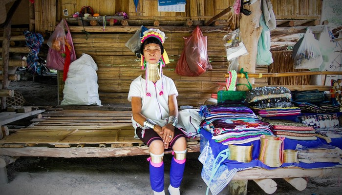 long neck karen tribe chiang mai