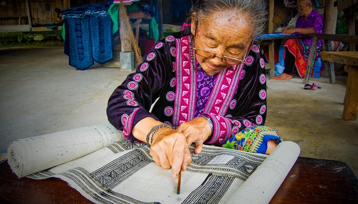 textile art chiang mai