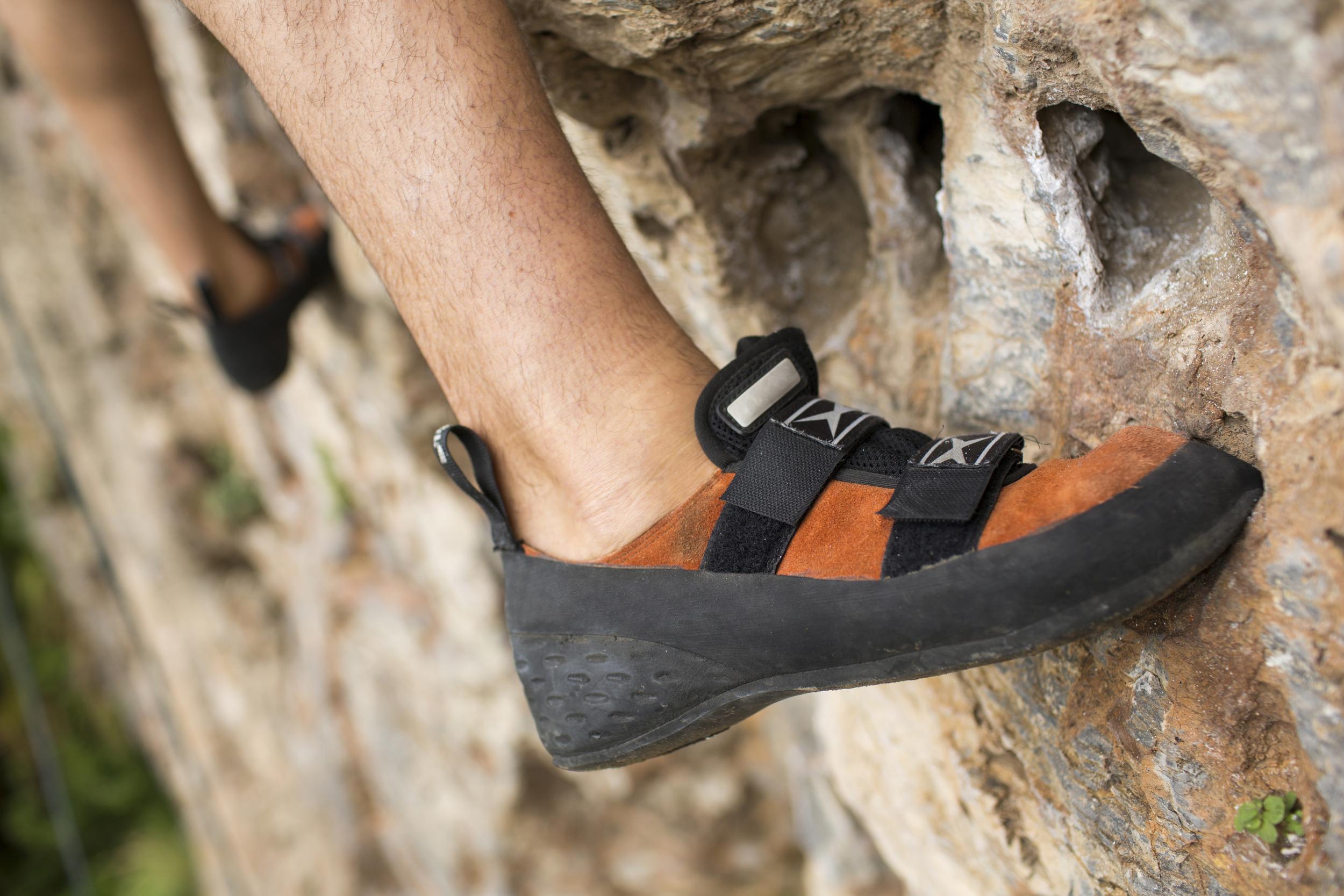 rock-climbing shoes gear