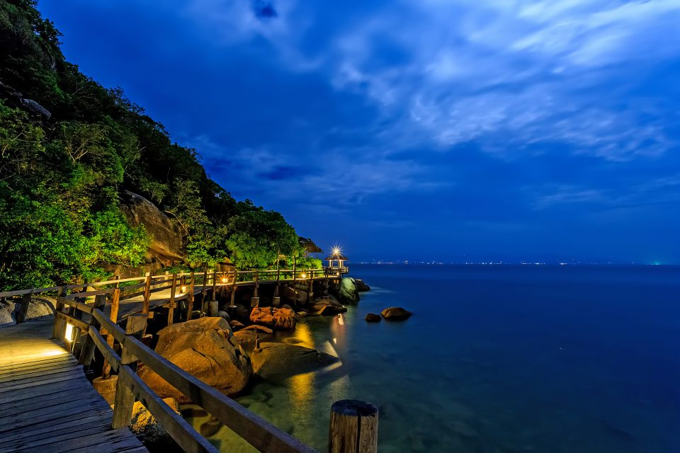Haad Saikantang beach in Koh Pha Ngan