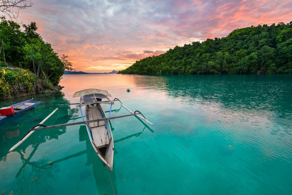 Togean island boat