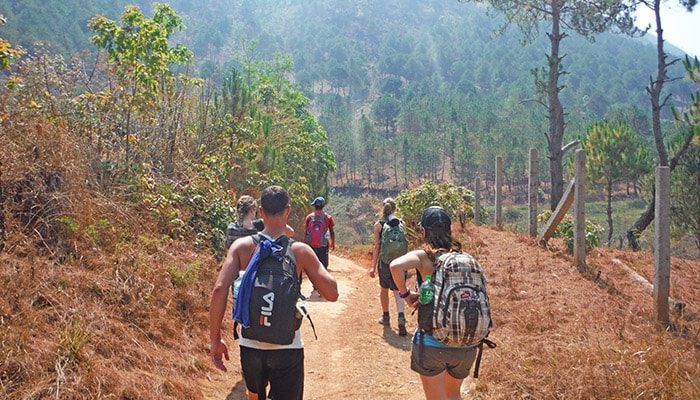 myanmar hiking