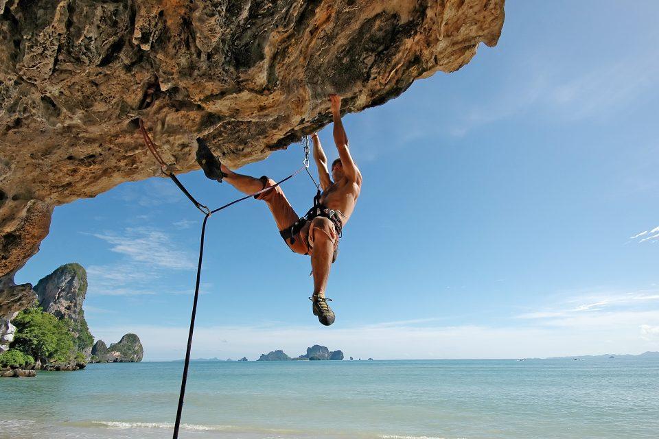 Railey Beach Thailand climbing