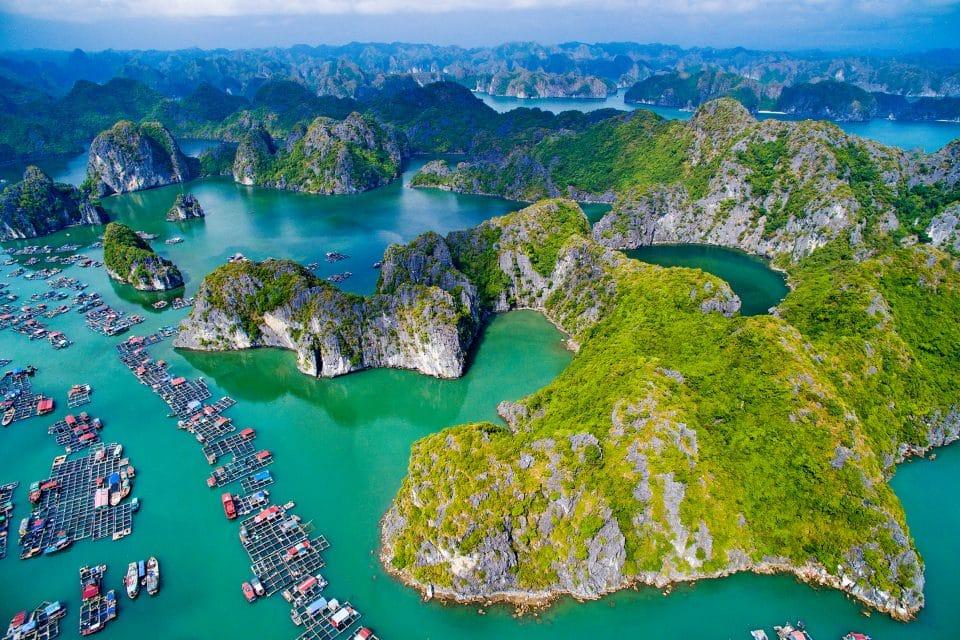 Rock climbing in Vietnam