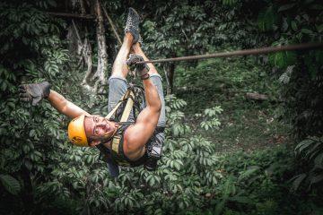 ziplining in cambodia