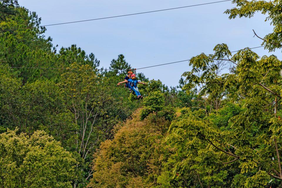 thailand ziplining