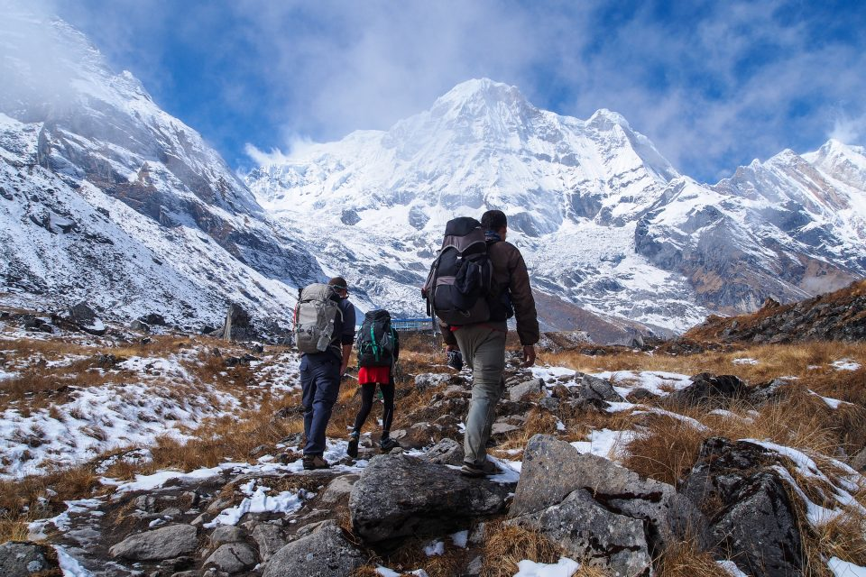 anapurna trail nepal
