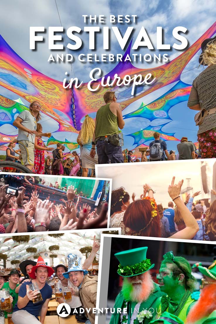 Festivals Europe | Looking for festivals while in Europe? Here are a few of our top pics for must not miss festivals and celebrations that are worth attending.
