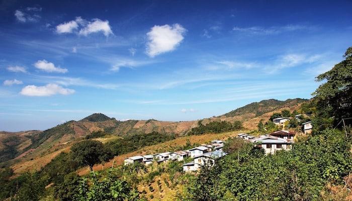 myanmar scenery trek