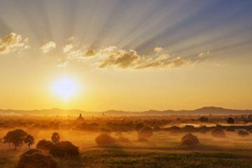 myanmar sunrise bagan