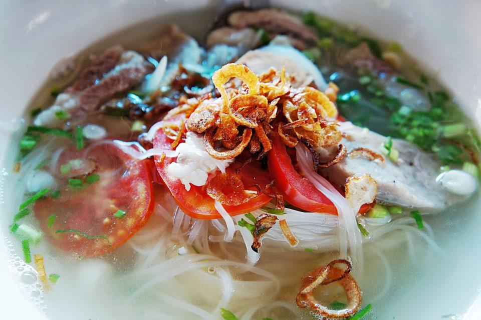 khao piaksen noodles laos